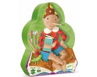 Puzzle siluetă Pinochio